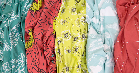 Spoonflower Introduces Cotton Spandex Jersey