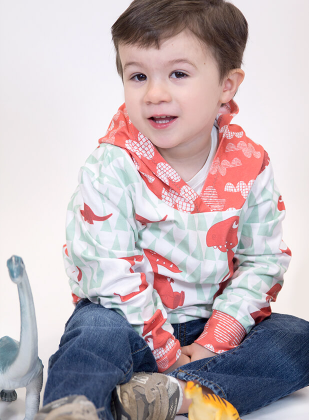 Make your own Toddler Hoodie at Sprout Pattern