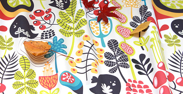 create your own fabric wallpaper gift wrap spoonflower
