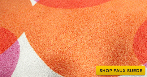 Shop for Spoonflower Faux Suede fabric