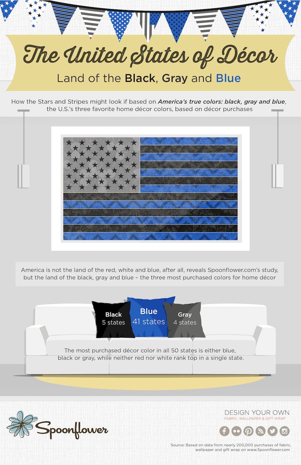 Color Flag Infographic