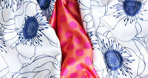 Shop for Spoonflower Satin fabric