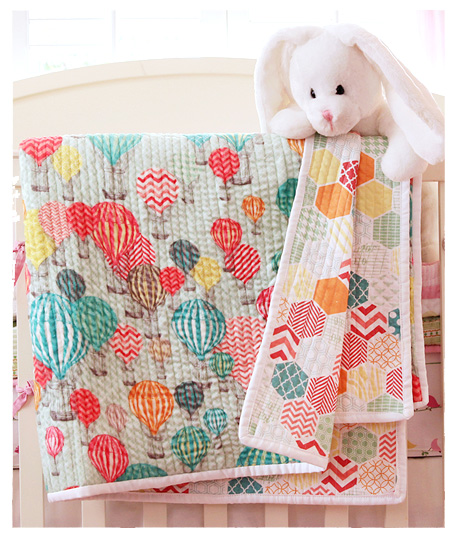 Individual quilters and crafters use Spoonflower to print custom fabric from their own designs.