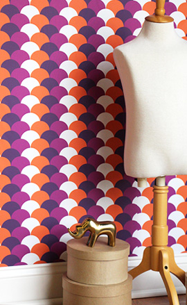 Transform a room with Spoonflower Wallpapers