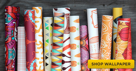Shop for Spoonflower Wallpapers